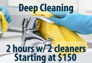 Deep house cleaning Columbus Ohio