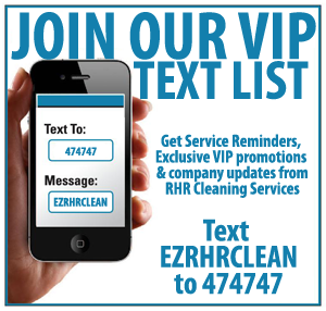 RHR Cleaning Services Text Reminders