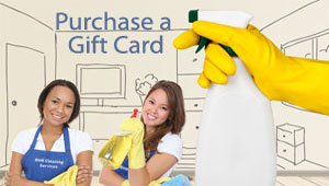 RHR House Cleaning Gift Cards